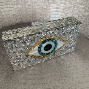 Evil eye purse